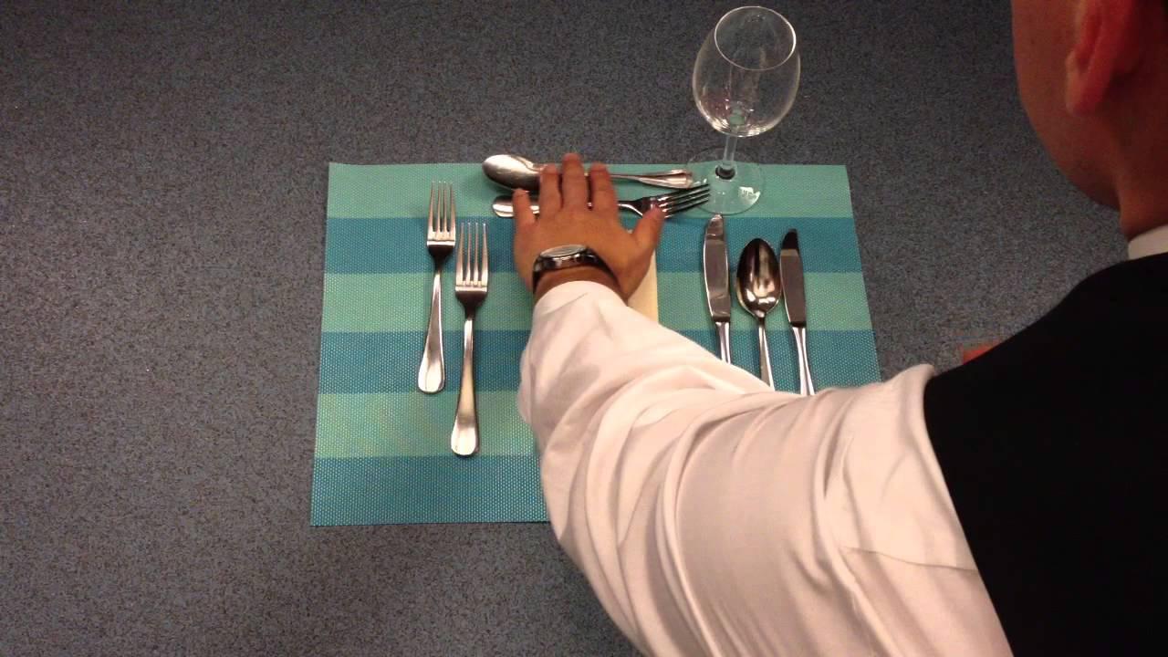 Tisch Richtig Eindecken Tisch Eindecken Lernen Youtube