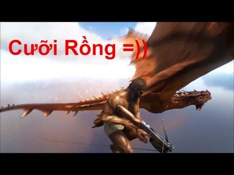 ARK: Survival Evolved Online #11 - Đi tìm Tôn Ngộ Không cùng Watermangamer =))