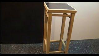Carpintería - Banqueta de madera