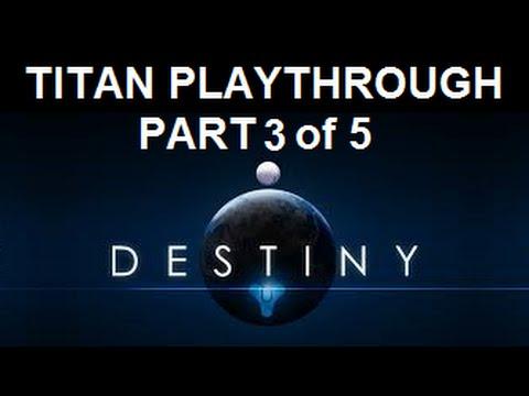 Destiny Beta - Level 3 Story: THE DARK WITHIN | Fast Run-Through