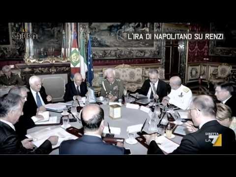 L'ira di Napolitano su Renzi