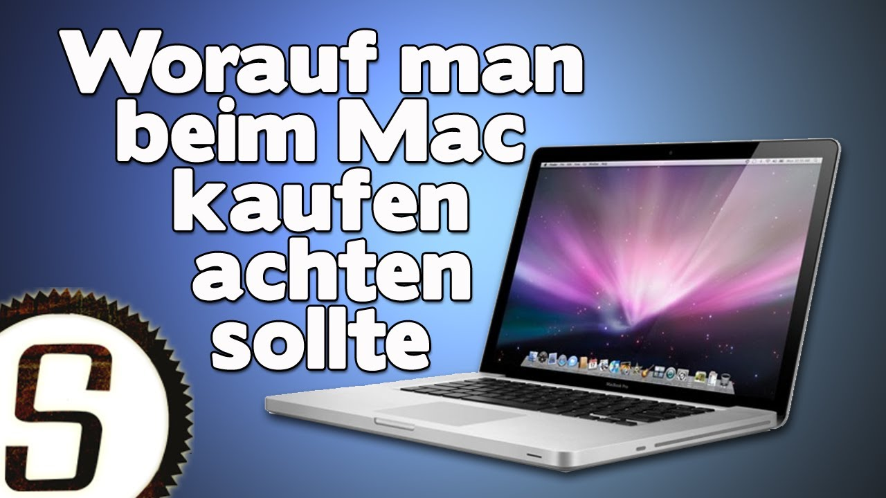 apple kaufguide worauf man beim mac kaufen achten sollte youtube. Black Bedroom Furniture Sets. Home Design Ideas
