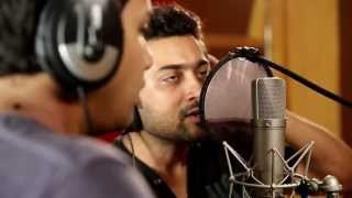 Surya singing for the first time for Sunrise Ad..