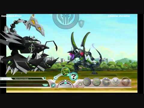 Bakugan Dimensions Barawl vs Barodius