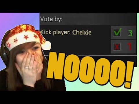 CSGO CLUTCHES OR KICK ! #12 - Funny Moments - Counter strike CSGO Chelxie