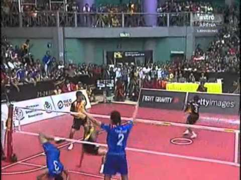 Malaysia Vs Thailand Sepak Takraw World Cup 2011 Final  1