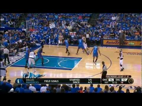 NBA Playoffs 2012: OKC Thunder Vs Dallas Mavericks Game 4 Highlights (4-0) HQ