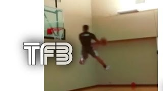 Phoenix Suns Gerald Green JUMPS OUT THE GYM !! | Off Wall Windmill Dunk