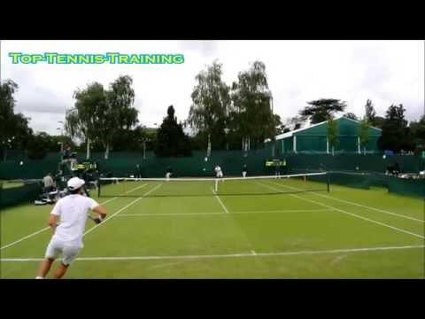 Wimbledon 2014 Qualifying-Day 1 Compilation-Court Level