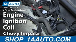 How To Replace Install Engine Ignition Coil 2006-12 Chevy