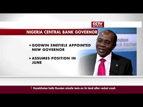 Godwin Emefiele appointed Governor of the Central Bank of Nigeria
