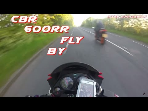CBR 600RR Akrapovic Exhaust System Fly By