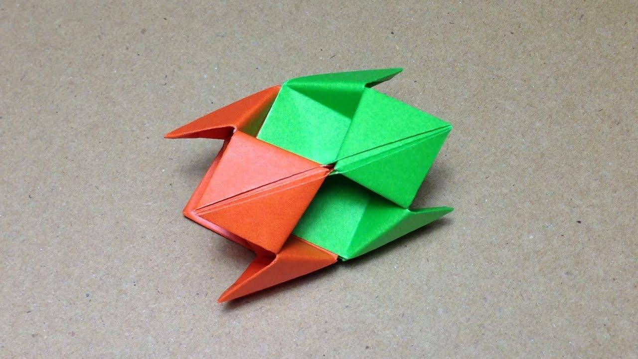 modular origami how to make an origami ball youtube
