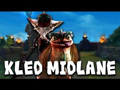 Kled Midlane ist ... gar nicht mal so bad [Analyse/Guide]