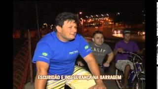 Escurid�o leva inseguran�a  a pedestres e ciclistas na Barragem da Pampulha