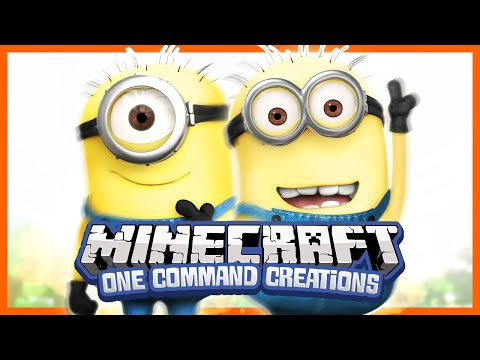 Minions in Vanilla Minecraft - Minecraft One Command Creations (One Command Minion)