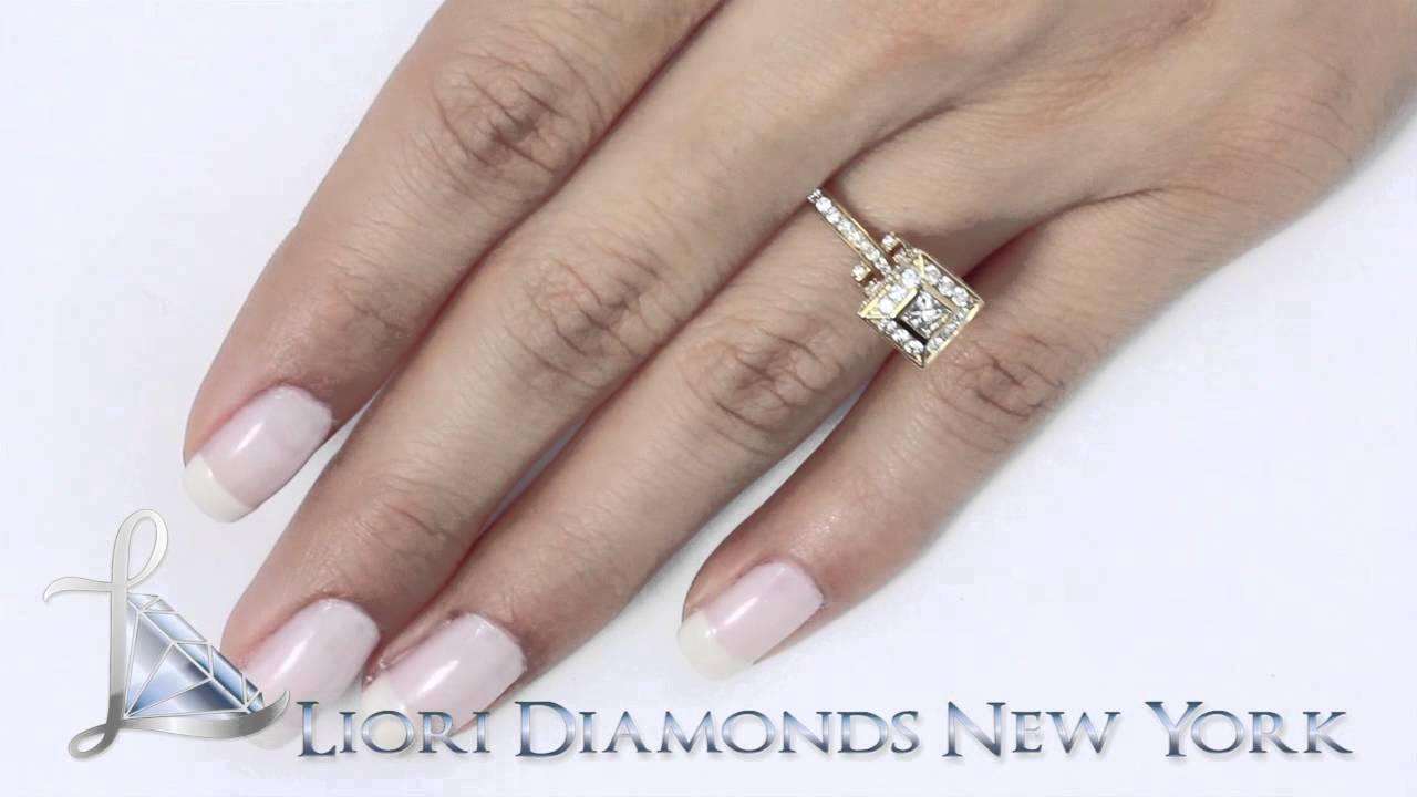 4 carat princess cut diamond ring  eBay