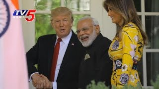 Trump's 'Red Carpet' For PM Modi | Modi-Trump Meeting Highlights