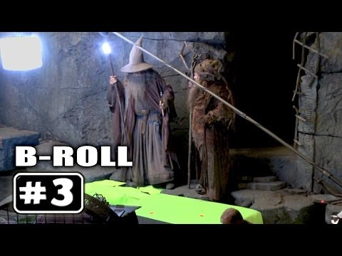 THE HOBBIT 2 : Behind the Scenes B-Roll Video # 3