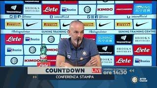 INTER-ROMA, LA CONFERENZA DI STEFANO PIOLI