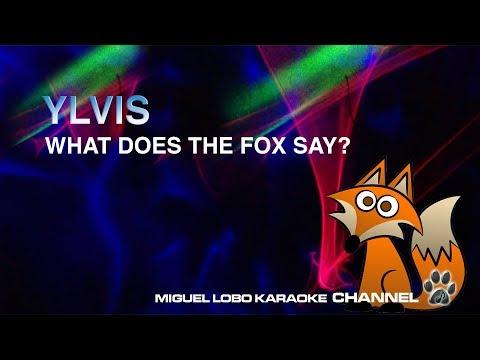 [Karaoke] YLVIS - WHAT DOES THE FOX SAY? - Miguel Lobo