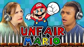 UNFAIR MARIO (React: Gaming)