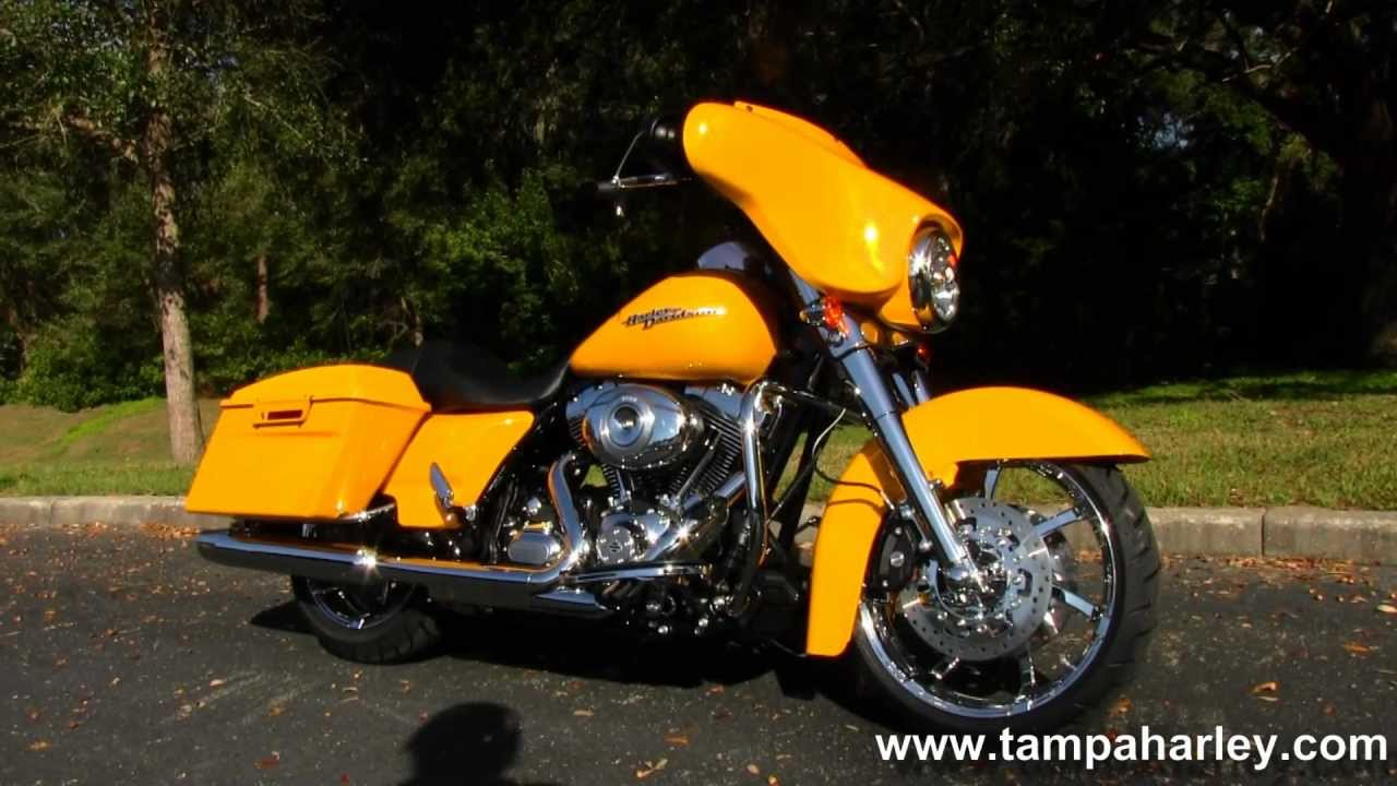 2013 Harley-Davidson FLHX Street Glide in Chrome Yellow Pearl for sale ...