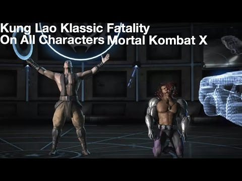 MKX - Kung Lao Klassic Fatality On All Characters = DLC