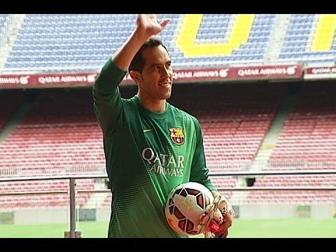 Claudio Bravo nuevo portero del Barcelona
