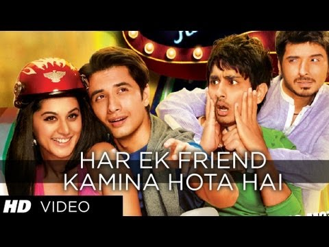 Har Ek Friend Kamina Hota Hai Video Song | Chashme Baddoor | Ali Zafar, Divyendu Sharma & Siddharth