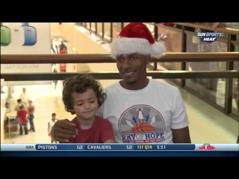 December 23, 2013 - Sunsports - Miami Heat Players in the Spirit of Giving During Christmas Holidays