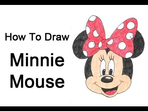 How to Draw Min... Easy Disney Character Sketches