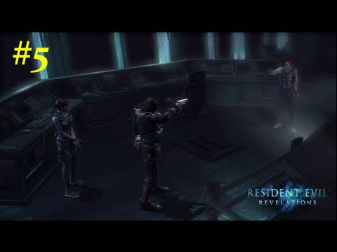 Resident Evil: Revelations HD Walkthrough - 05 - Capitulo 3 Ingles Sub Español *Huellas* PS3/360