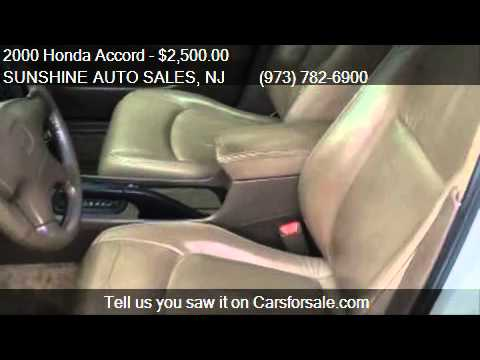 2000 Honda Accord EX GAS SAVER  for sale in Paterson, NJ 075