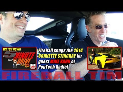 FIREBALL TIM 5Minute Drive Ep29 with PopTechRadio Host MIKE KAHN & the
