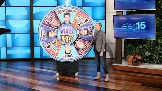 Ellen Spins the 'Wheel of Chrises'