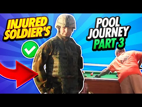 14 Days - The Great Pool Experiment Reno, Nevada - Sgt. Robert Evans, US Army (RET) - Day 2