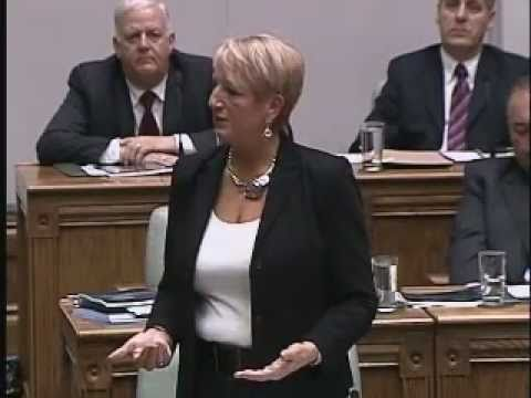 Kathy Dunderdale on Budget 2011 . . . Communities