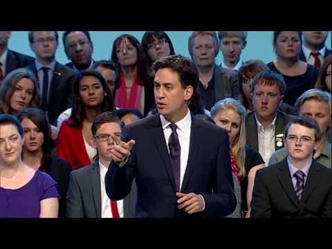 Ed Miliband Conference 2013 speech