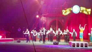 YBC Performing At  Ringling Bros. And Barnum Bailey Circus 2016