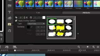 Corel VideoStudio Pro X3 : Video Shap