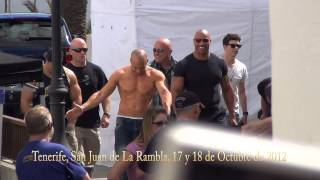 Fast And Furious 6 Vin Diesel Y The Rock En Tenerife