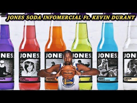 Jones Soda Infomercial Ft. Kevin Durant | Jamal_Haki