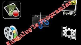 Video Çekmek İçin Kullanılan Programlar Ve Anlatımı