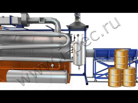Batch Thermal Decomposition Plant (UTD-1)