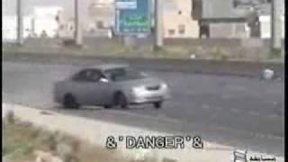 Carrera de locos al volante