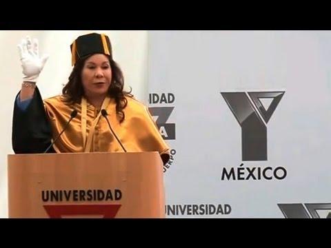 Doctorado Honoris Causa a Doctora María Luisa Piraquive • Solemne Acto de Investidura • México, D.F.