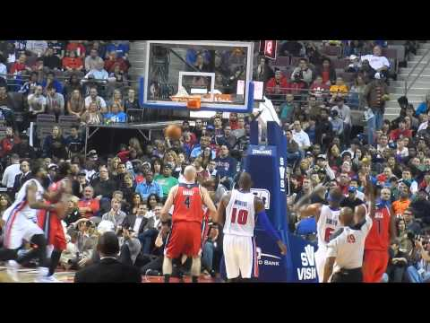 Washington Wizards vs. Detroit Pistons: Raining 3's For Josh Smith