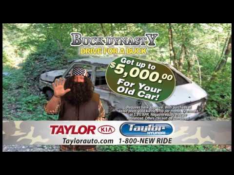 Taylor Kia Buck Dynasty Sales Event