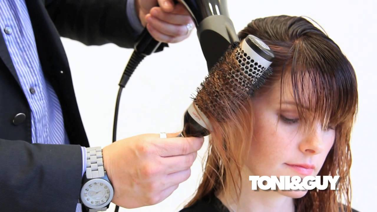 The Perfect Blowdry Technique Ribboning With A Round